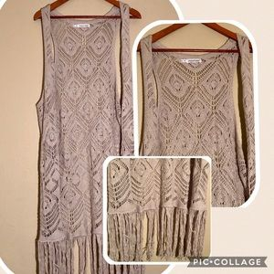 Maurices Jackets & Coats - 💕5 FOR $25 SALE Maurices Long Crocheted Vest